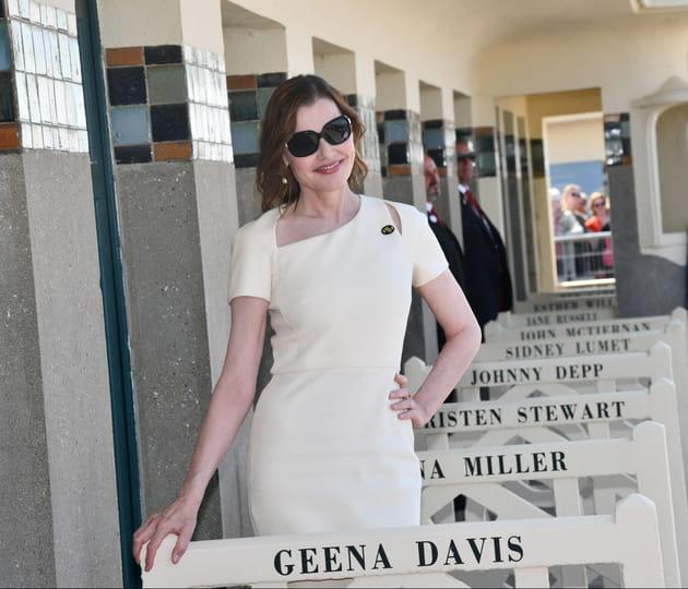 Geena Davis inaugure sa cabine