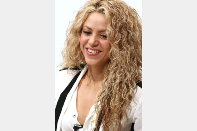 Les boucles épaisses de Shakira