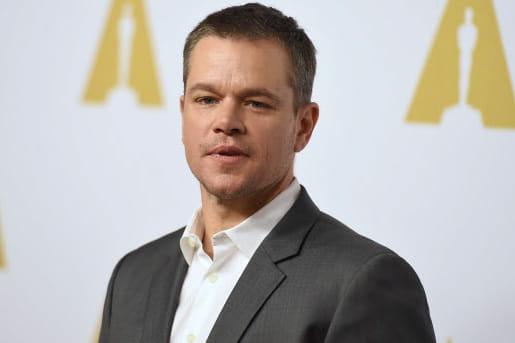 Matt Damon, papa modèle