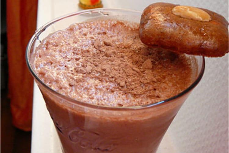 Milk-shake glacé au Nutella