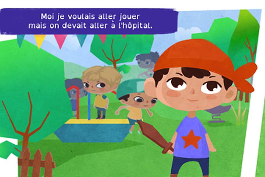 Lumine, le premier serious game pour expliquer le cancer aux enfants et aux parents
