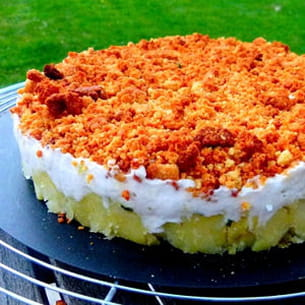 brandade de morue revisitée en cheesecake