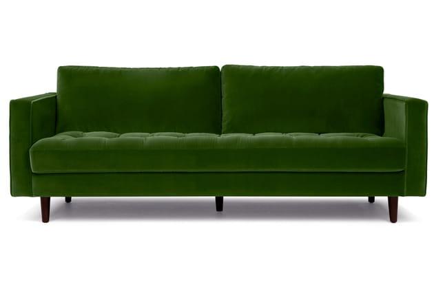 Canapé en velours Scott par Made