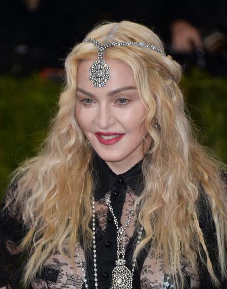 La coiffure Hindi de Madonna