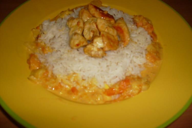 Poulet coco riz basmati