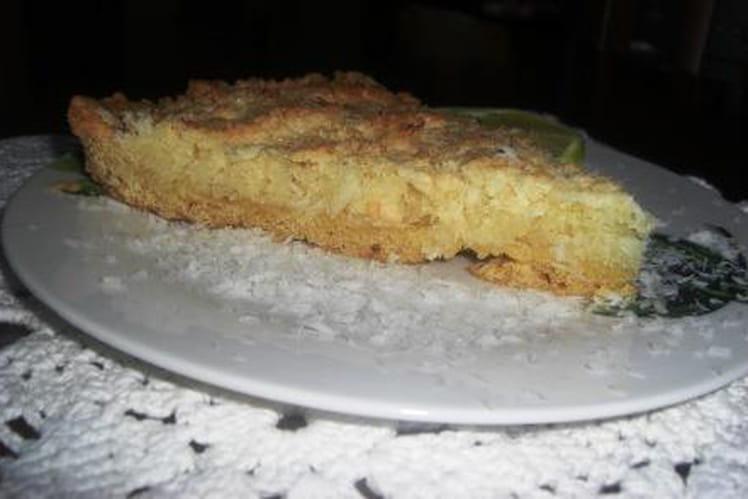 Tarte à la noix de coco et au citron de Sicile