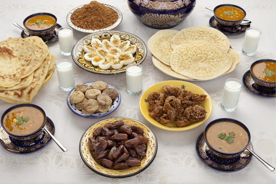 Que mange-t-on pendant le ramadan?