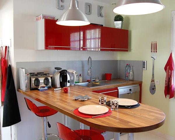 Les plus belles cuisines de lectrices for Les plus belle cuisine