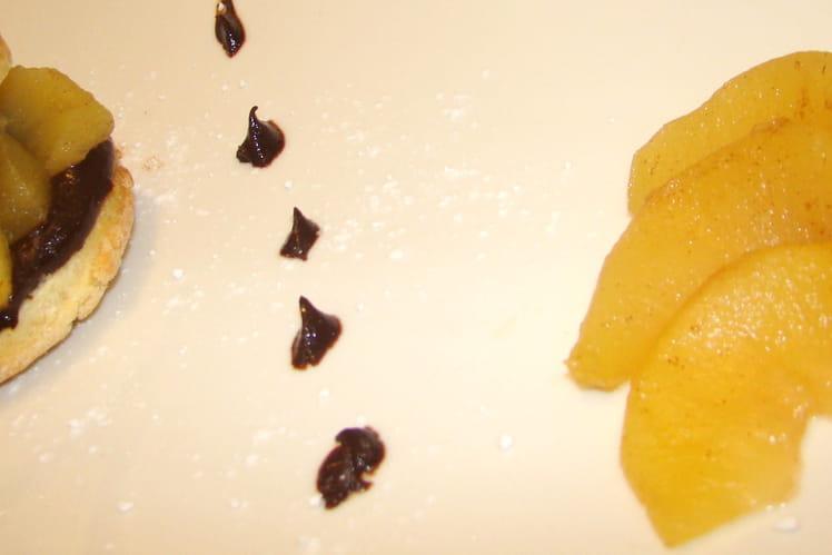 Sablés pommes chocolat