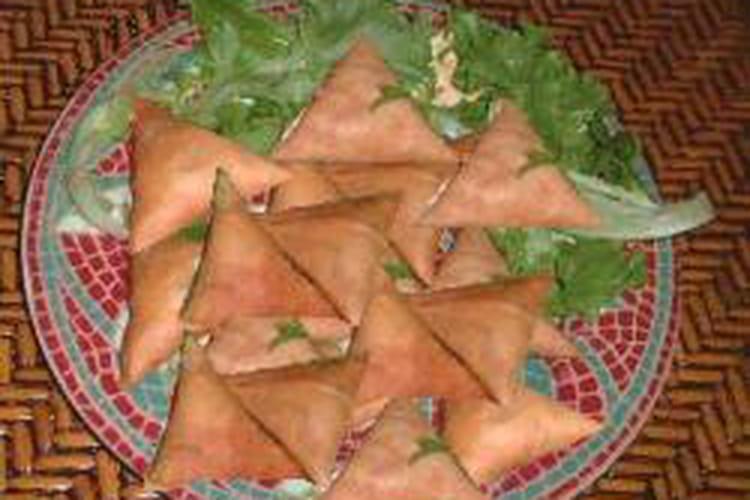 Samoussas végétariens aux épices