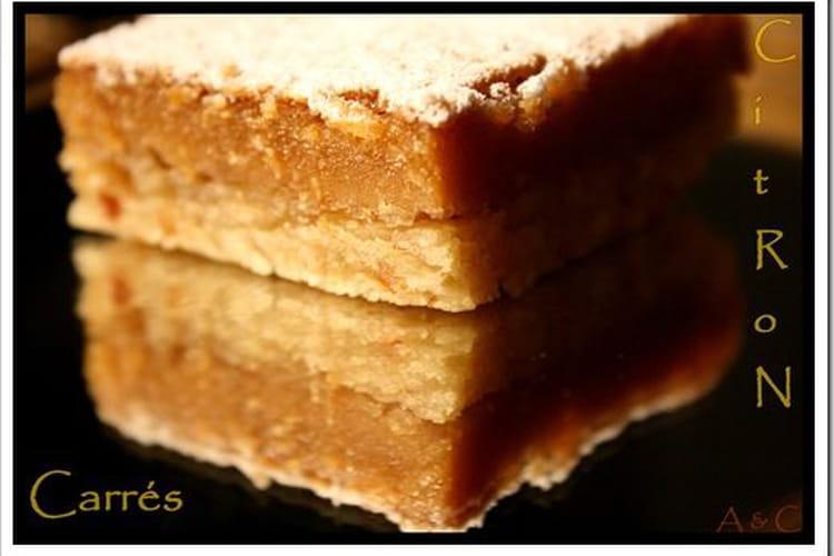Gâteau carré(ment) citron(né)