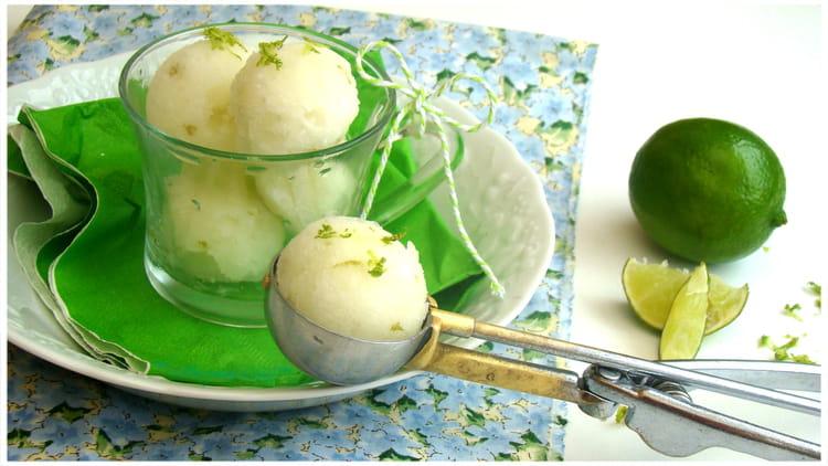 recette de sorbet au citron vert recette de christophe felder la recette facile. Black Bedroom Furniture Sets. Home Design Ideas