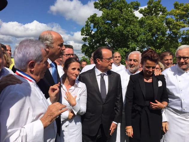 Anne-Sophie Pic régale François Hollande