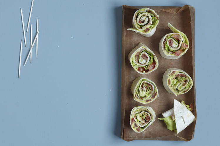 Wraps tomate & guacamole