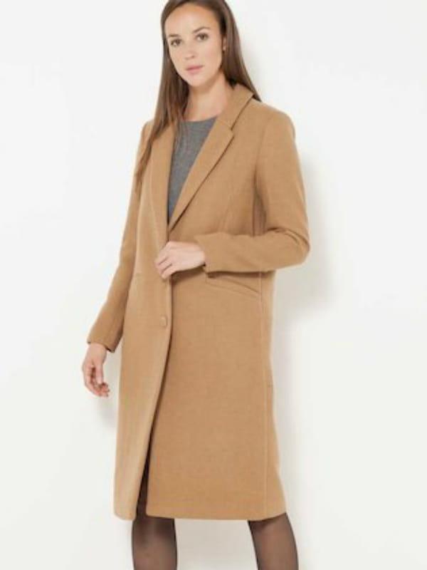 pas cher pour réduction 78189 4fc13 Manteau en laine de Camaïeu
