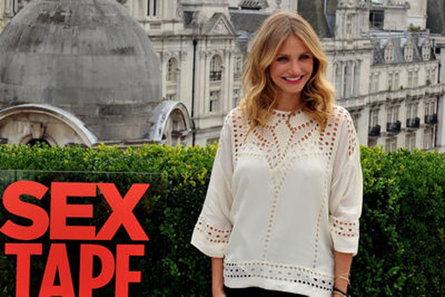 Le look people du jour : Cameron Diaz, trendy