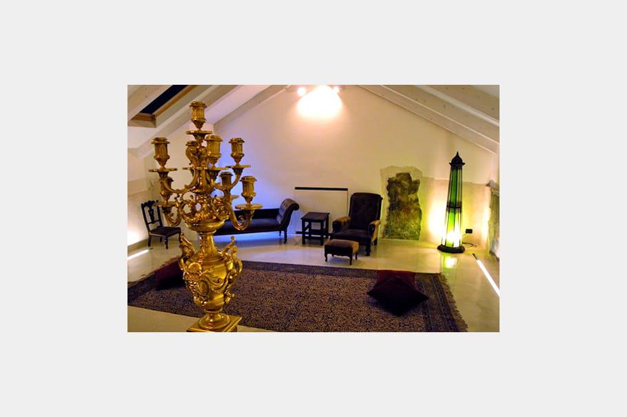 Belles pi ces d 39 antiquit d co l 39 italienne dans une - Deco italienne maison ...