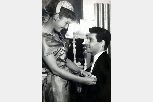 Eddie Fisher et Debbie Reynolds, avant leur mariage