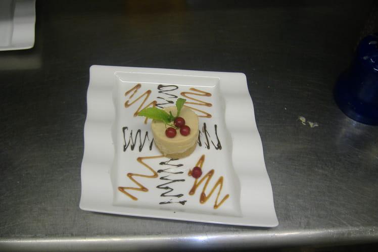 Cheese cake caramel et épices