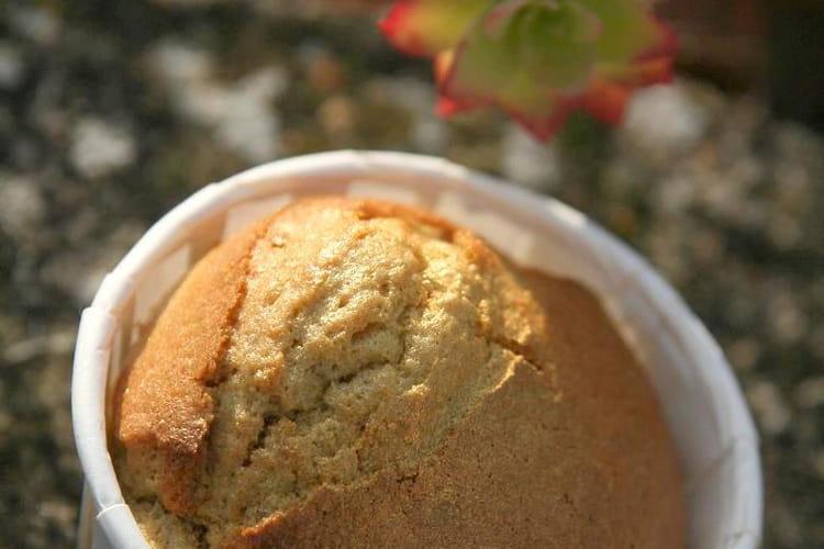 Muffins dorés à la châtaigne