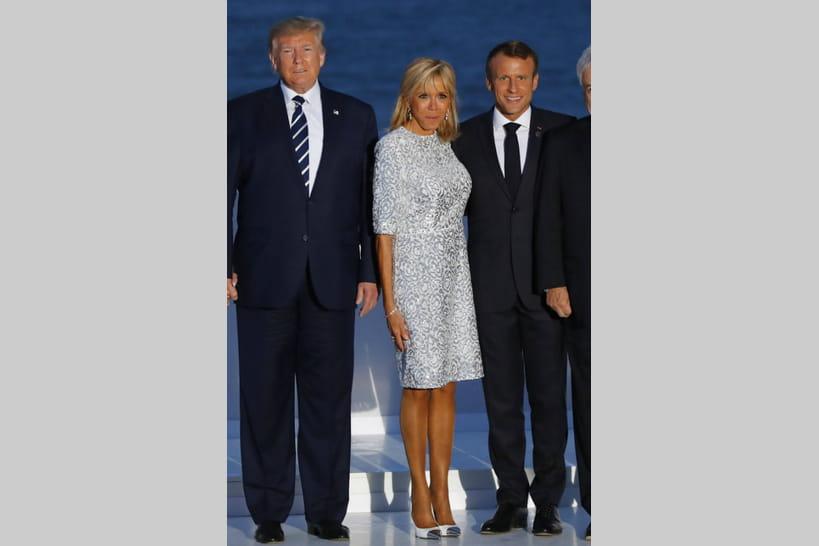 Calendrier Macron 2019.Les Looks De Brigitte Macron En Mode Premiere Dame