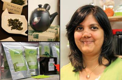 yvoline xavier a créé la marque de thé 'jodhar' en 2010.