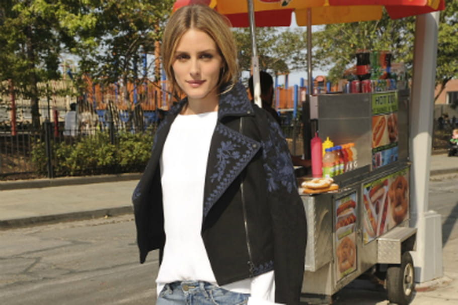 Le look people du jour : Olivia Palermo, urban chic