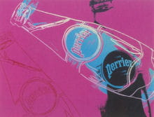 perrier bottles 1983 the andy warhol