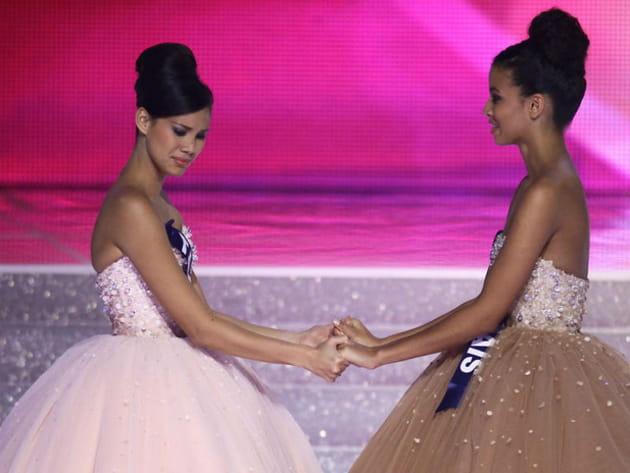 Face à Miss Tahiti