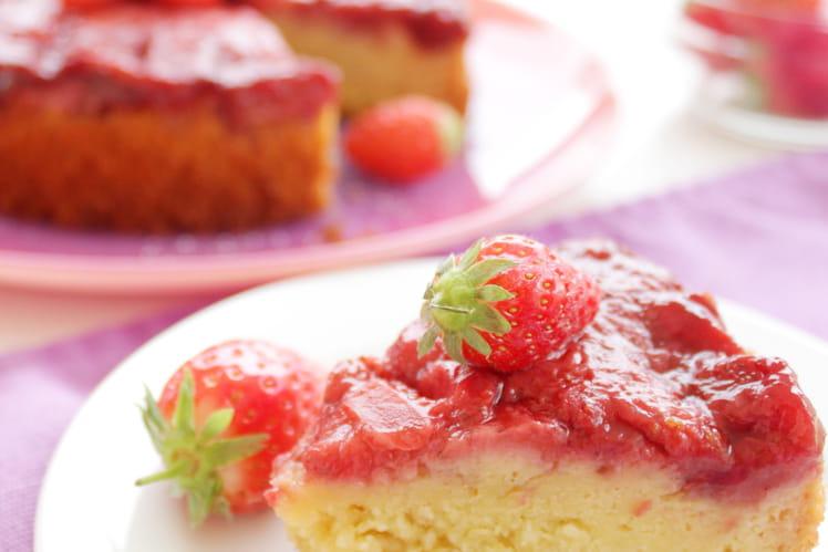 Fondant fraise amande - version allégée