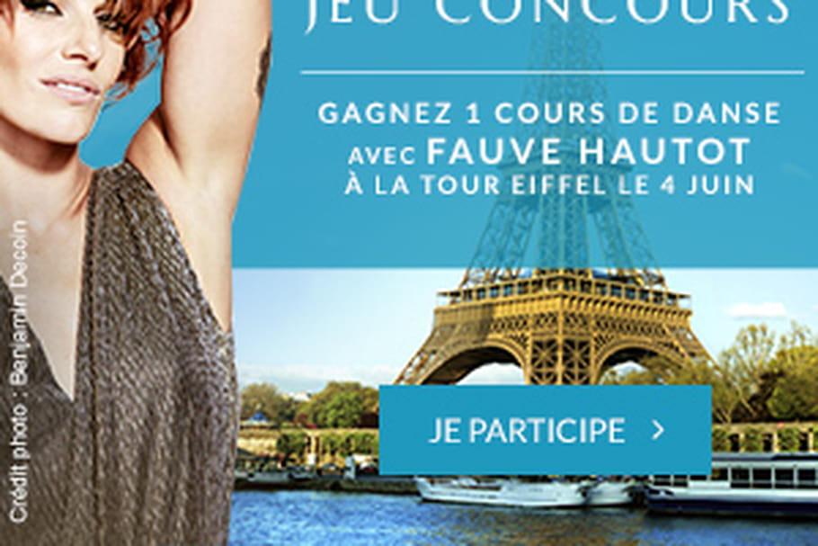 Venez danser avec Fauve Hautot le 4 juin à La Tour Eiffel