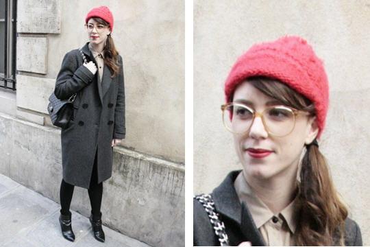 Fashion week : les street looks des défilés parisiens PAP automne-hiver 2011-2012 31