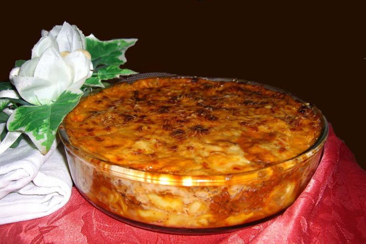 Tortelloni façon lasagnes