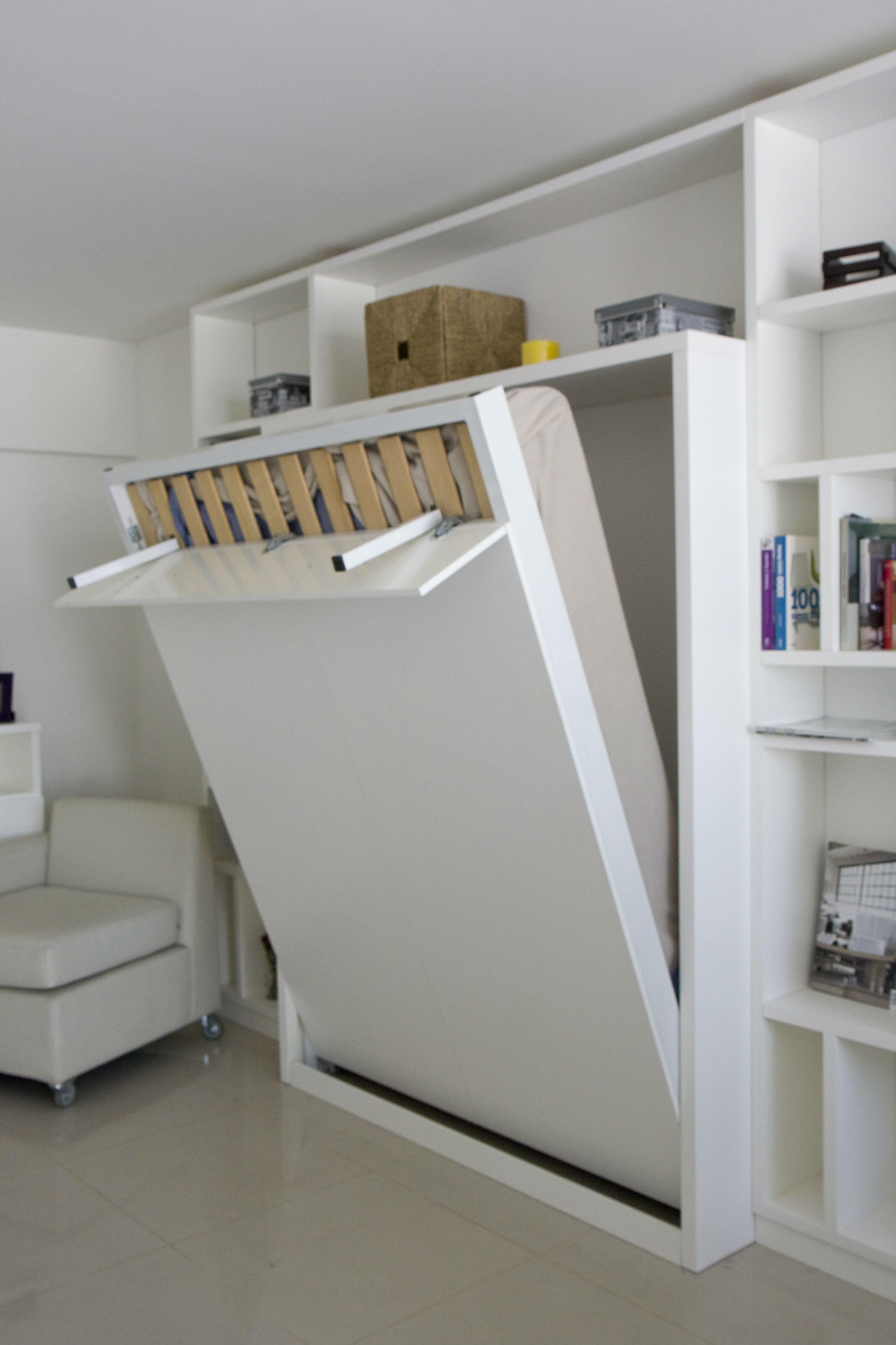 Choisir un lit malin et discret for Solution lit pour petit espace