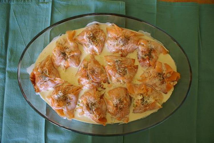 Paniers aux deux saumons