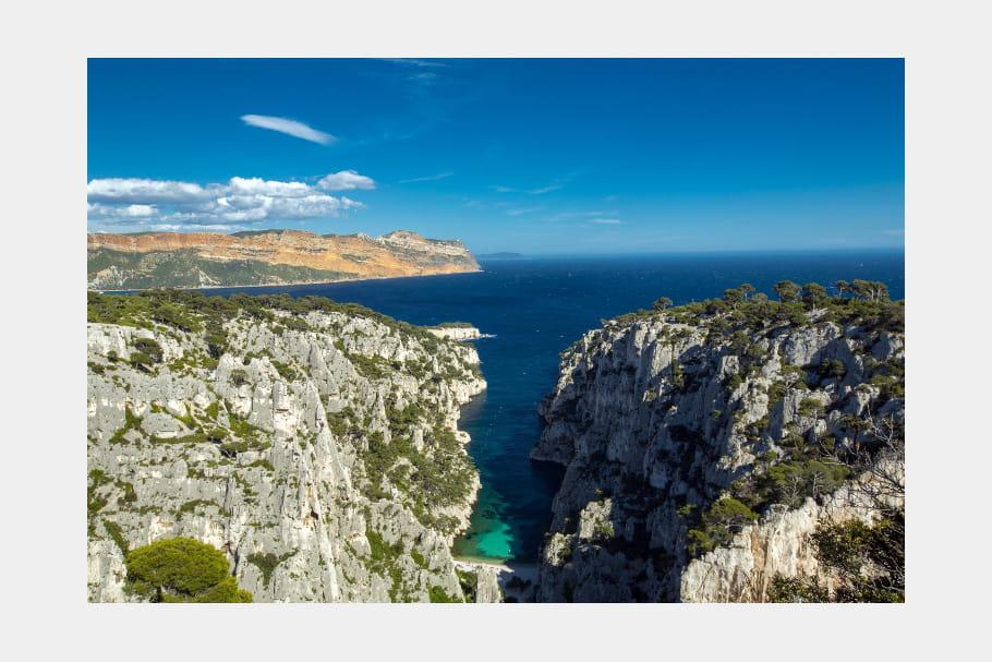 Le Parc National des Calanques à Marseille