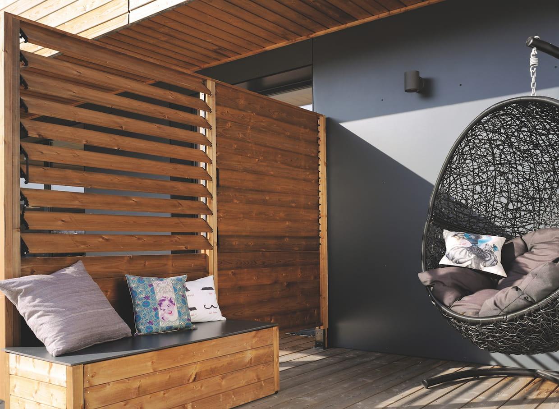 le panneau lames orientables. Black Bedroom Furniture Sets. Home Design Ideas