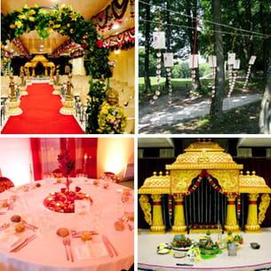 Un mariage hindou vu par l 39 agence physalis - Decoration mariage hindou ...