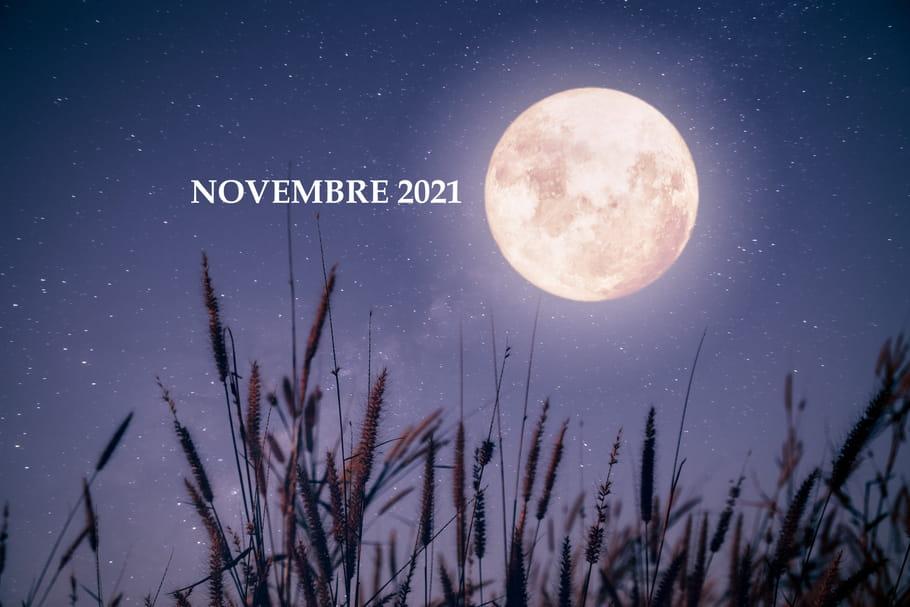 Calendrier lunaire au jardin novembre 2021