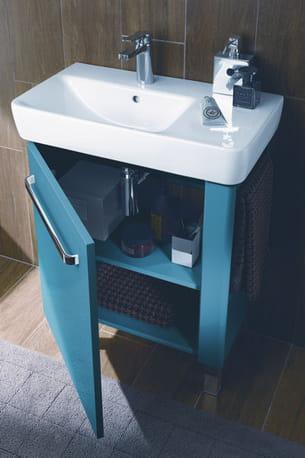 lavabo asymétrique et compact d'allia