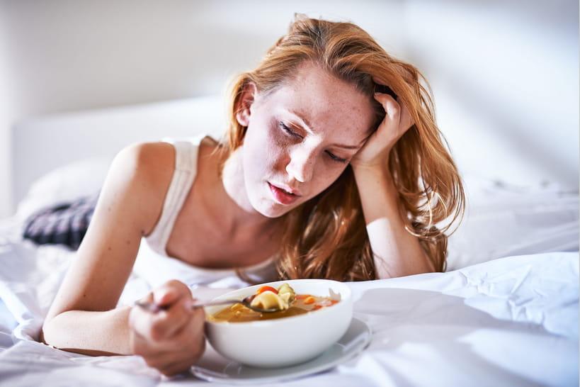 Que manger en cas de gastro?