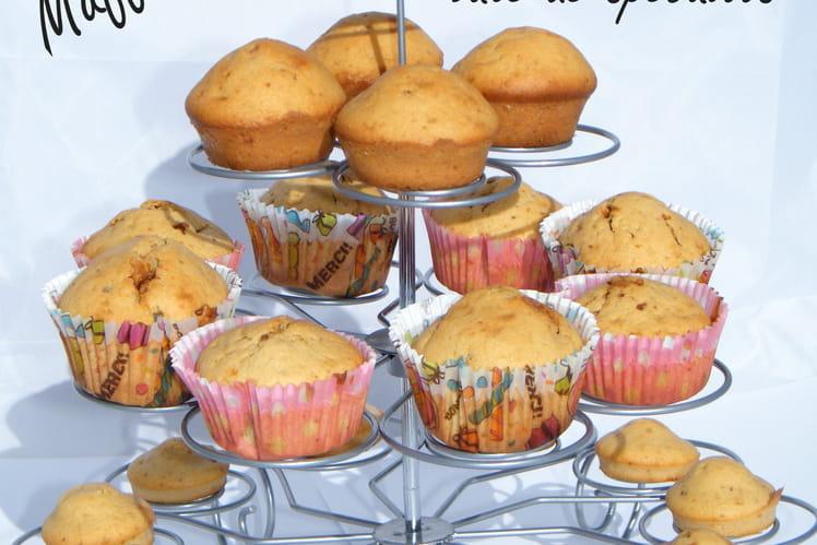 Muffins à la pâte de spéculoos Cruuuunchy !