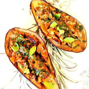 les aubergines façon provençales