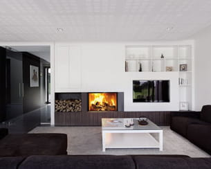 foyer bois phénix 95 green de bodart & gonay
