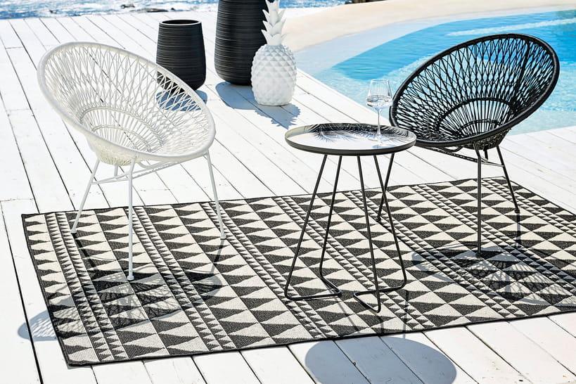 tapis d 39 exterieur maison du monde. Black Bedroom Furniture Sets. Home Design Ideas