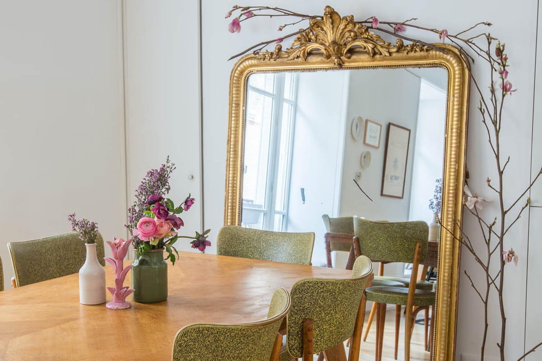 Miroir ancien doré: où le chiner, comment le nettoyer et le relooker?