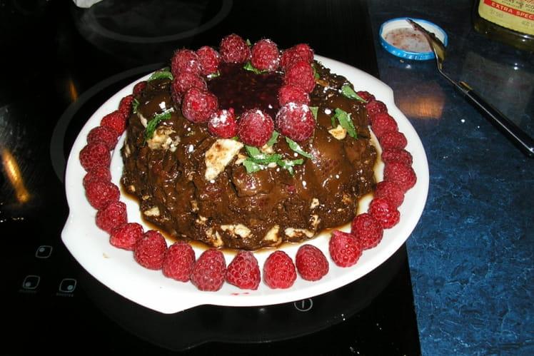Délice cacao-framboise