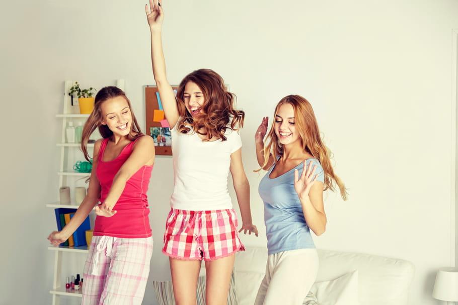 10jeux pour une soirée pyjama entre ados