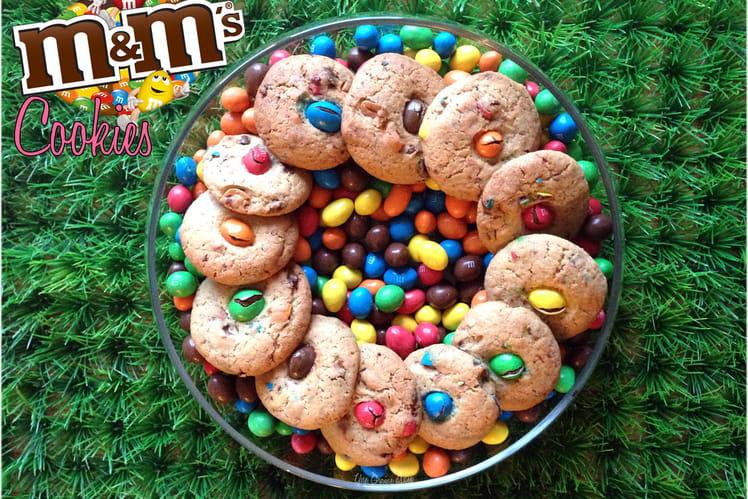 Cookies irrésistibles aux M&M's
