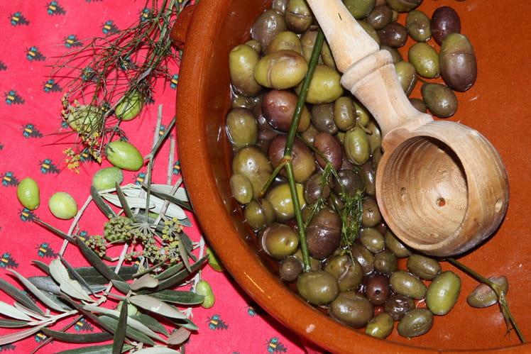 Olives cassées (type Salonenque)